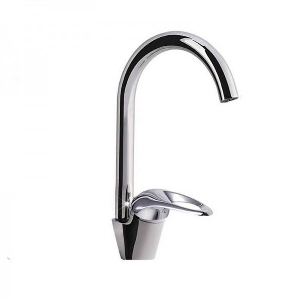 キッチン蛇口360度回転盆地シンクタップ蛇口ホワイトカラー真鍮新しく蛇口9099ワット