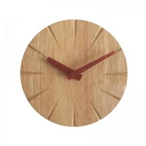 15センチクリエイティブ木製壁掛け時計リビングルーム人格シンプルモダン時計diy超静かな寝室小さな壁掛け時計