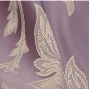 高級北欧クッションカバー幾何学ロマンチックパープル高級刺繍投げ装飾枕カーカバーHousse De Coussin