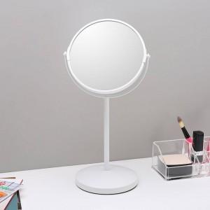 6.5インチ化粧鏡デスクトップシンプル装飾鏡両面鏡拡大化粧台鏡wx 816 1450