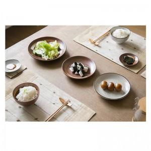 7ピース/セット日本スタイルプロモーションセラミックprocelainディナーセットブルーテーブルウェアセットボウルプレート7ピース愛好家のディナーセット