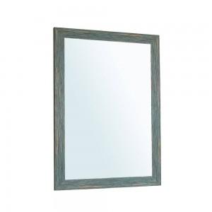 A1ブルーレトロバスルームミラー壁掛けリビングルーム衛生トイレ化粧鏡wx 8221506