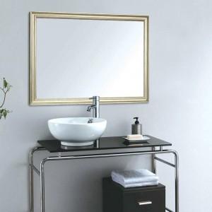 A1ヨーロッパ浴室ミラー狭いボーダーホーム壁掛けポーチリビングルーム化粧鏡wx 8221449
