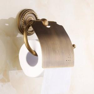 AB1シリーズ壁掛け紙ホルダーアンティーク真鍮仕上げ浴室付属品ハードウェア紙棚7002A