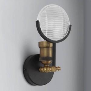 アメリカのクリエイティブレトロ壁面ライトクラシックカーライトシェイプ工業用壁取り付け用燭台ランプ寝室のベッドサイド通路照明照明器具