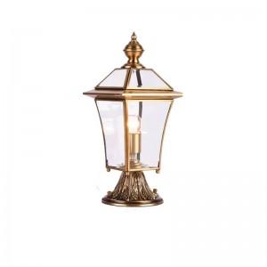 アメリカンスタイルオール銅景観照明ヴィラガーデンポーチランプ屋外庭草原ランプ屋外防水照明