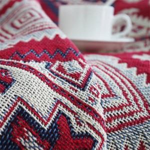 アメリカンスミノ投球毛布クリスマス装飾コベルターレッドマンタパラソファ/ベッド旅行チェック柄滑り止めステッチ毛布