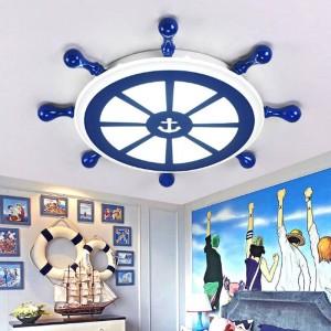 バーサロンアールデコセーラーランプled器具天井照明子供部屋ブルーオフィスライトダイニングルーム研究ledシーリングランプ