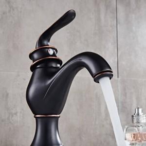 洗面台の蛇口真鍮ゴールド浴室のシンク蛇口シングルレバー風呂洗い冷たいお湯ミキサータップWCコックBanheiro Torneira LAD-18058