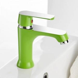 洗面台の蛇口エレガントな浴室の蛇口ホット&コールドウォーター盆地ミキサータップクローム仕上げ真鍮トイレのシンク水クレーンゴールド855738
