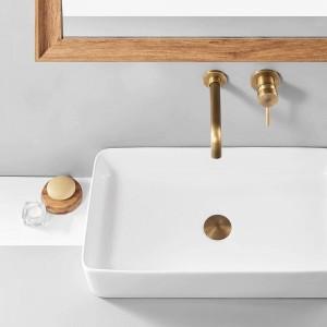 流域蛇口壁掛け真鍮浴室のシンク流域ミキサータップ蛇口クローム蛇口デュアルハンドル黒浴室の蛇口855011