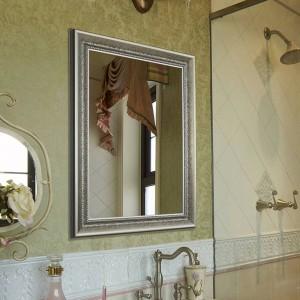 浴室用ミラーレトロな壁掛けスクエアミラーの寝室用化粧鏡wx8221416