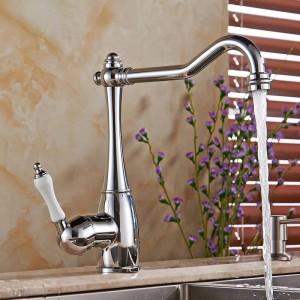 浴室とキッチンの両方のための浴室の水道蛇口クレーン浴室の蛇口シングルハンドルキッチンシンクの蛇口ミキサータップLH-6030L