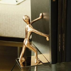 ブックファイル金属クリエイティブ人格ヨーロッパのカンフーブックブロック本フォルダーローズゴールドヴィンテージ家の装飾
