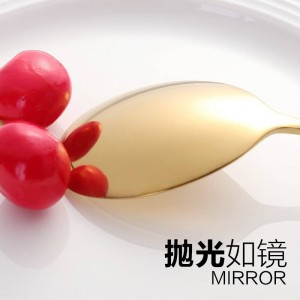 10ペアステンレス鋼の伝統的な箸とスプーン18/10食器用寿司食品麺キッチンハシ
