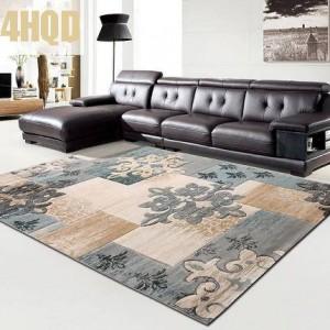 カーペットトレーディングアイテムモダンシンプルリビングルームカーペット寝室ソファコーヒーテーブル刻まれた長方形
