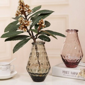 カラフルなクリスタル卓上ガラス花瓶花瓶家の装飾ウェディングパーティーの装飾