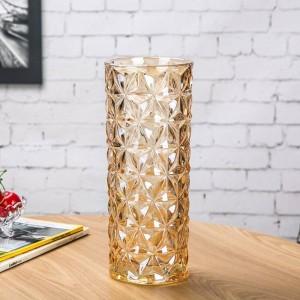 クリスタルガラス花瓶ヨーロッパ大花瓶家の装飾の装飾品
