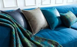 クッションカバーポストモダンメタリックスロー枕カバーソフト模造puレザー寝具ホームモデルルームの装飾cojines almofadas