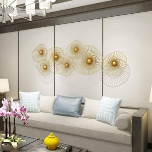 注文の新しく軽い贅沢な壁の装飾の創造的な家の壁掛けのソファーの背景の装飾