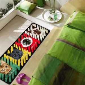 かわいい彗星男マット人格漫画のパターンパッドクリエイティブキッチンカーペットドアのほこり玄関マット家庭用カーペット風呂の敷物
