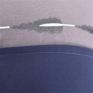 エレガントな青いタッセルジャカードクッションカバー高級モデルルームアメリカンピローケースホームテキスタイル用品チェアシート車のカバー