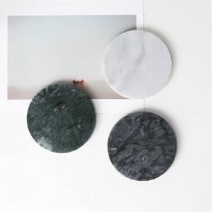 ヨーロッパの大理石柄オフィステーブル収納プレートシックなミニマリスト北欧北欧セラミックデスク収納トレイオーガナイザーの装飾