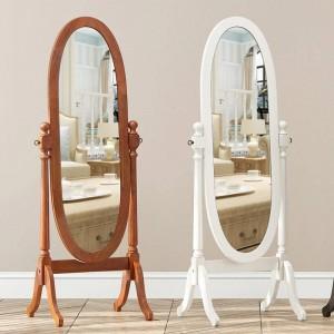 ヨーロピアンスタイルの寝室ミラー全身床垂直可動ミラーリビングルーム王女彫刻装飾ミラーwx 824 14 20