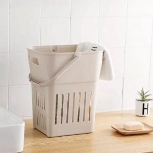 特大プラスチック製のダンパー汚れた衣類収納バスケット衣料品バスケットバスルーム置きおもちゃ箱洗濯バレル