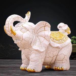 ファッションクリエイティブヨーロッパレトロ装飾象ティッシュボックス研究室ホームテーブル装飾工芸品