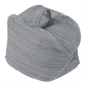 床に座るクッションフットスツール付きハンドル - 和風ラウンドシーティングソファープーフフットレッグレストステップスツール枕forキッズ大人