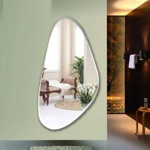 フレームレスフィッティングミラー寝室の装飾ミラー壁掛けフルレングスミラーエントランスフロアミラーwx 8231137