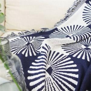 ジオメトリセクター投げ毛布ソファ装飾的なスリップカバーコバートールクリスマスの装飾ホーム滑り止めステッチチェック柄毛布