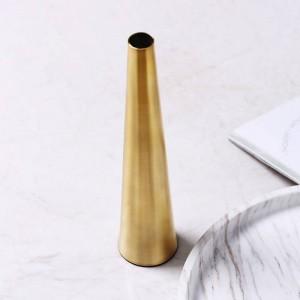 ゴールデン花瓶クリエイティブフラワーアレンジメントドライ花瓶ホームデコレーションデコレーションソフトデコレーション調度品
