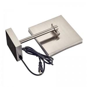 照明付き化粧台卓上化粧鏡 - LEDライトと拡大鏡3倍のプロフェッショナル調節可能なカウンタートップ化粧鏡