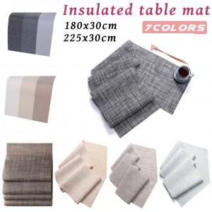 環境保護のための耐熱性すべり止めテーブルパッド環境に優しい革新的なテーブルクロステーブルの装飾