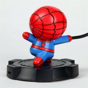 英雄LEDナイトランプテーブルランプスパイダーマンアメリカンキャプテンハルクアイアンマンアベンジャーズアライアンス寝室リビングルームデコナイトランプ