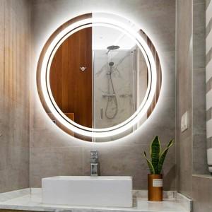 ホームラウンドled化粧鏡ライトウォールランプip54防水浴室ホテルの部屋トイレミラーledライトled壁器具