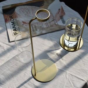 水耕植物花瓶金属デスクトップ装飾クリエイティブ花瓶家の装飾飾り