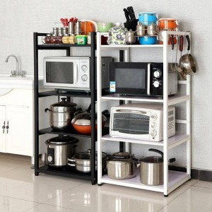 工業用装飾本棚ペア装飾装飾トリムキッチン収納棚バスルームオーガナイザーRangement料理棚