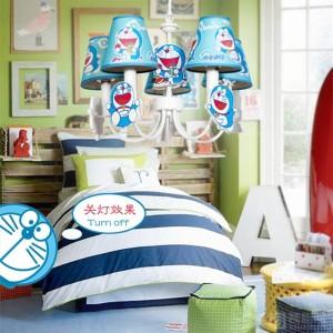 """子供のDORAEMONライトコスプレペンダントランプ用子供部屋19 """"ブルーled Lamparas男の子の寝室の赤ん坊の王女はペンダントライトを導いた"""