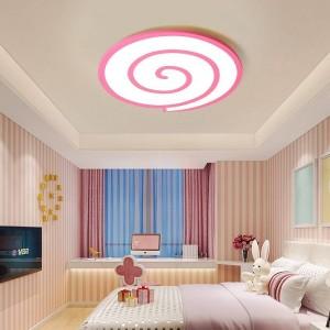周りのクリスタルの恋人と白い表面調光器または居間や寝室用のスイッチ付きシーリングライトを導きました