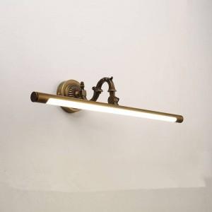 北欧化粧ハングランプled銅ミラーヘッドライトアメリカンバスルームキャビネットランプホームデコ壁取り付け用燭台照明器具
