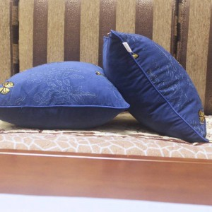 高級刺繍クッションカバーガーデンバタフライcojines decorativosパラソファ車/枕カバーラマダンの装飾Housse De Coussin