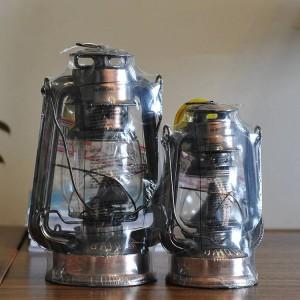 地中海風ランタンブロンズオイルランプ家具記事鉄製ハリケーンランプキャンドルホルダー