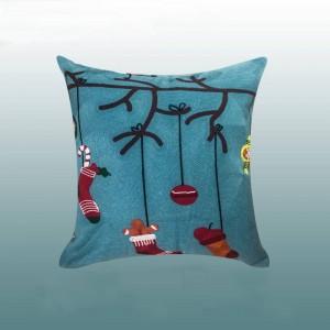 メリークリスマスクッションカバー高級ゴールド刺繍投げ枕cojines decorativosパラソファ装飾用ホームフェスティバル