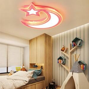 現代の天井灯白青ピンク色男の子と女の子の寝室用キャビネットランプ天井照明器具