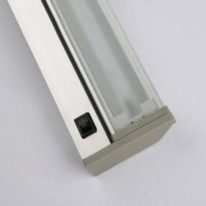 現代のミラーランプ防水壁ランプ48センチ61センチ高品質壁掛け浴室AC85V-240V入力白6000K暖かい白