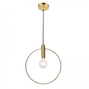 現代のシンプルな銅ペンダントライトクリエイティブデザインペンダントランプダイニングルームのバルコニーハングランプランパラテーチョコルガンテe27ランプ5ワット