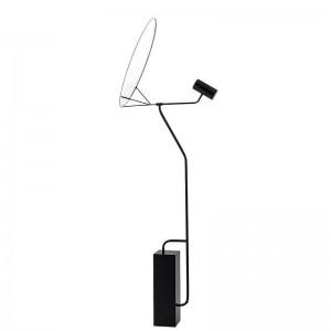 現代のシンプルなスタンディングランプホワイトアクリルランプシェードledランプフロアライトホワイエ読書寝室のオフィスホームLED照明器具